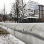 Поставка трубы 630х9, Варшавское шоссе - МТЭР ЦТС , г. Москва